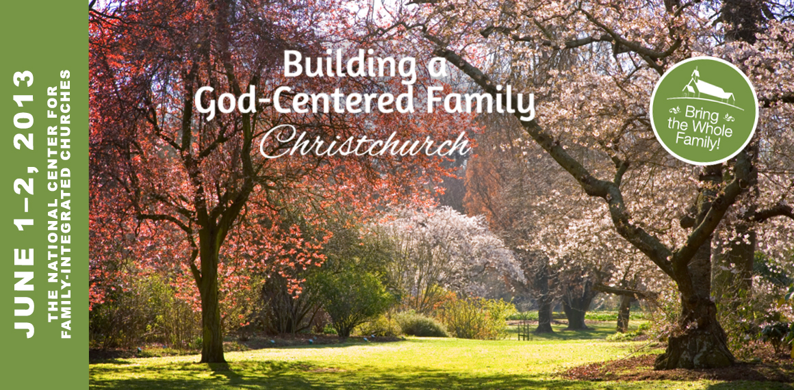 Building a God-Centered Family - Christchurch Tour