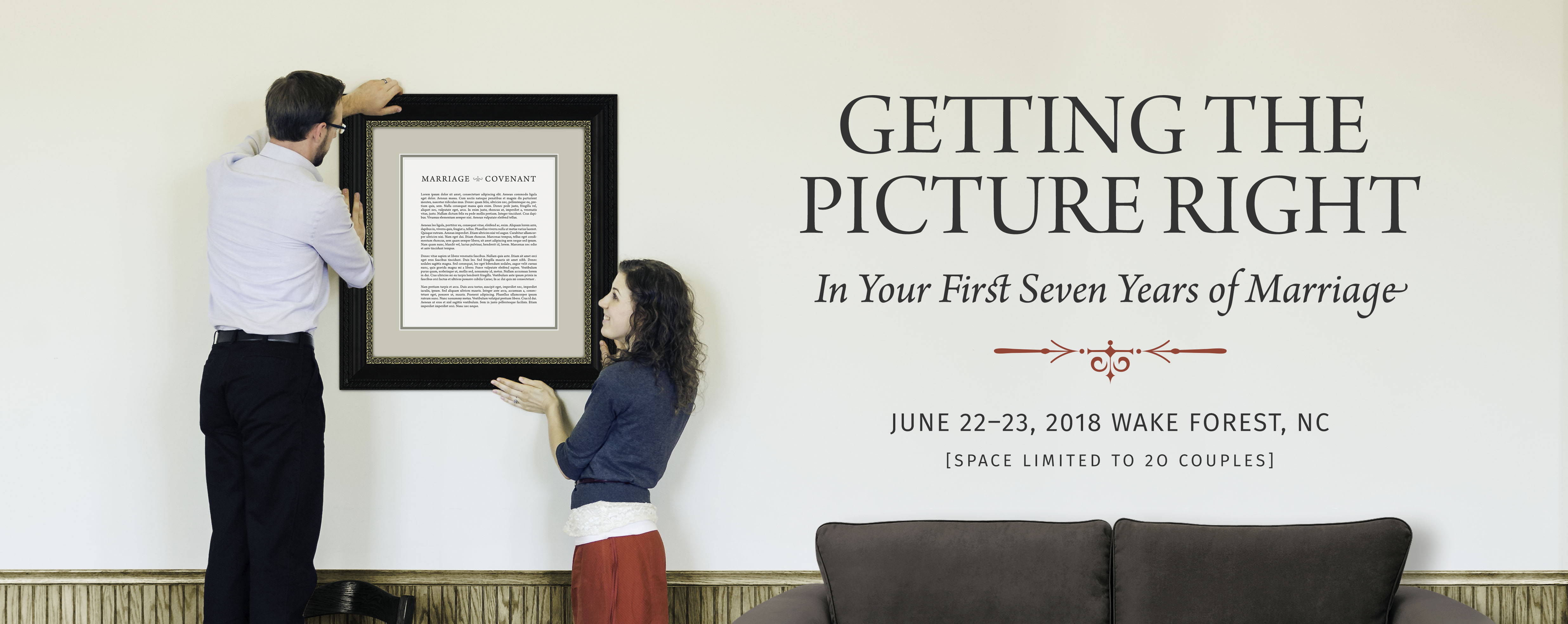 Getting the Picture Right - In Your First Seven Years of Marriage