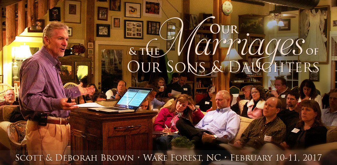 Our Marriages and the Marriages of Our Sons and Daughters
